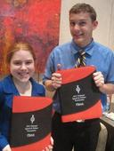 Gomulkiewicz/Kesinger compete at 2011 National Speech & Debate Tournament